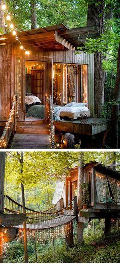 Tree house hotel in Atlanta
