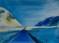 Mountain road-4 2014 21x28cm