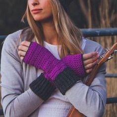 Be Smart Mitts Crochet Pattern  - Let's make some Comfortable Crochet Gloves