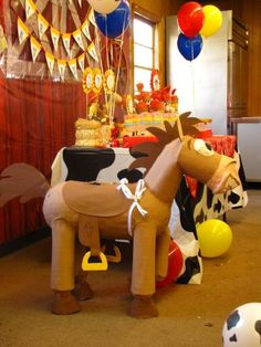 Fiesta infantil tematica de Toy Story (13) - Tutus para Fiestas Mexico - Disfrases personalizados y moños