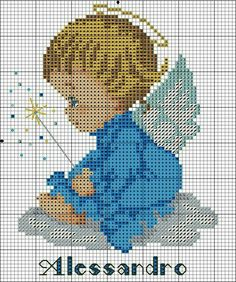 VK is the largest European social network with more than 100 million active users. Baby Cross Stitch Patterns, Cross Stitch For Kids, Cross Stitch Baby, Cross Stitch Charts, Cross Stitching, Cross Stitch Embroidery, Christmas Embroidery Patterns, Cross Stitch Angels, Tapestry Crochet
