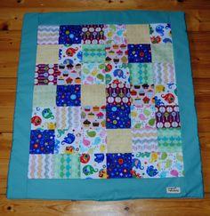 Patchworková deka pro miminko o rozměrech 80 x 100 cm