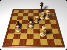 If the king is not in check, you cannot move any piece other than the king, and every option for the king would lead to check, the result is a stalemate. Moving a king into check is not a valid move, and if those are your only options, the game is a draw. In this stalemate, the person with the black pieces cannot move anything else. The pawns are stopped in their tracks by other pawns, and none of their other pieces are on the board.
