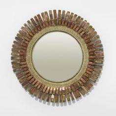 Line Vautrin   344: Line Vautrin convex mirror