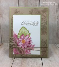 Happy Weekend! Hope you've got big plans. Or…no plans! Whatever will make you happy this weekend is what I hope for you! I want to share a most gorgeous stamp set with y'all. Hm…