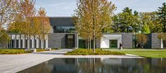 right here in the Minne! | Lakewood Cemetery's Garden Mausoleum by HGA Architects