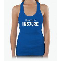 Desire to Inspire (Pi Symbol) Womens Tank Top