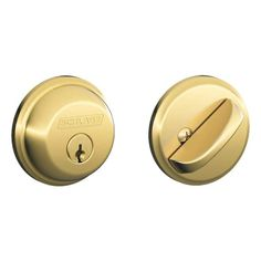 Schlage B60 Single Cylinder Grade 1 Deadbolt from the B-Series