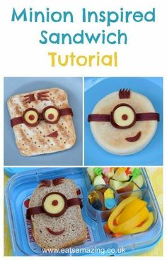 easy owl sandwich and cute bento lunch idea from eats amazing uk