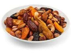 Trail Mix : Many store-bought trail mixes typically contain ingredients that are fried in artery-damaging types of fat. The smartest bet is to make your own using raw or dry-roasted nuts, whole-grain cereal and dried fruit. Prepackage into single-serving bags so you can always have a calorie-controlled, healthy snack on hand.