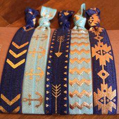 Items similar to Hair Tie Bracelets: Esmerelda / Creaseless Hair Ties on Etsy Hair Tie Bracelet, Bracelets, Creaseless Hair Ties, My Etsy Shop, Unique Jewelry, Handmade Gifts, Vintage, Bangle Bracelets, Handcrafted Gifts
