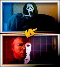 GHOSTFACE versus MICHEAL MYERS ■ http://terror.ca/movies/franchise/rank?f=262&f2=1793