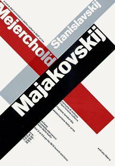 Bruno Monguzzi, Majakovskij, 1974