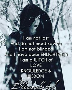 Blessed are witches. - Pinned by The Mystic's Emporium on Etsy