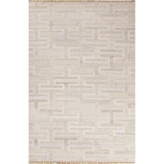 A few of our favorite features about our Rhett rug include the durability, the fact that it's reversible and the stylish execution of the design. With a bit of a sheen and soft, soothing colors, our neutral rug will be a great choice as a starting point for your home.