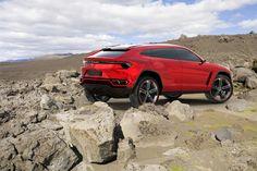 Lamborghini Urus.  Great styling!