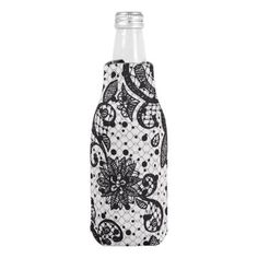 Glam Lace Bottle Cooler - home gifts ideas decor special unique custom individual customized individualized
