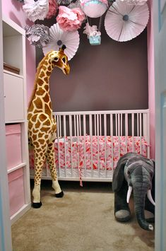 Have fun with statement decor in your baby's nursery!