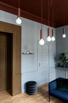 Interior Wall Colors, Interior Walls, Interior Lighting, Colorful Interiors, Colorful Decor, Palazzo, Casa Milano, Maximalist Interior, Bedroom Wall Designs
