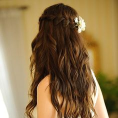 Bridesmaid Braid Flower - Hairstyles How To