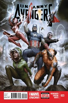 The Avengers Unity Team; Featured in Uncanny Avengers was the idea of Captain America. It's team mixes Avengers and X-Men but surprisingly is lead by Alex Summers… Havok. Marvel Dc Comics, Marvel Avengers, Heros Comics, Uncanny Avengers, Marvel Now, Marvel Heroes, Comic Book Characters, Comic Book Heroes, Marvel Characters
