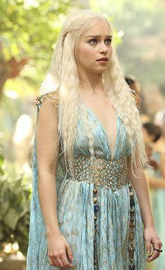 Daenerys's Quarth Dress belt and shoulder piece