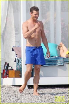 Shirtless Jamie Dornan & Bikini-Clad Dakota Johnson Film 'Fifty Shades' Beach Scene!: Photo #3704247. Jamie Dornan shows off his ripped shirtless body while filming the (spoiler alert) honeymoon scene for Fifty Shades Freed on Tuesday (July 12) in Saint-Jean-Cap-Ferrat,…