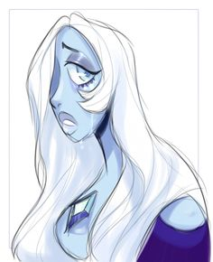 Steven Universe - Blue Diamond by lizardwow