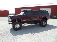 1995 Chevrolet Suburban  3/4 Ton - 4X4 Dually - with 38 x 11 Super Swamper Tires