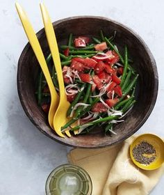 Crispy Green Bean Salad With Tomatoes and Shallots