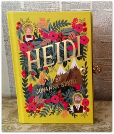 Book Clutch Heidi by Johanna Spyri Petite Book by vivalasvixens