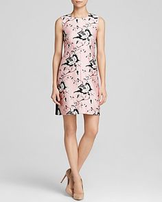 A silhouette worth springing for! This DVF dress is exclusive to Bloomingdale's, prime for walks in the park (and pretty for Park Ave!). #100PercentBloomies