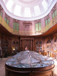 Teylers Museum is the Netherlands' first and oldest museum, open to the public since 1784.