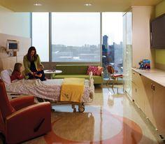 University of Minnesota Amplatz Children's Hospital designed by Tsoi/Kobus & Associates.