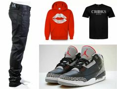 Outfit ideas for Valentine's day #Lastkingsco jeans, #PopularDemand hoodie, #crooksandcastles tee all available now