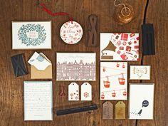 Letterpress Weihnachtskarten & Geschenksanhänger von #CarissimoLetterpress Designed, handprinted & manufactured in Vienna.  #Favini #LovePaper #PaperandInkLovestory #LetterpressinVienna Letterpress, Gallery Wall, Toys, Paper, Frame, Decor, Merry Christmas Card, Papercraft, Coasters