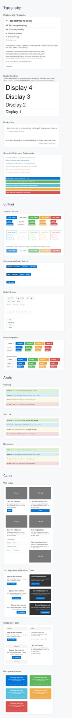 Bootstrap 4 UI Kit - Axure Widget Library  - The most comprehensive Bootstrap widget library ever assembled.