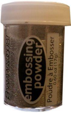 Dinglefoot's Scrapbooking - Star Dust Embossing Powder, $4.49 (http://www.dinglefoot.com/star-dust-embossing-powder/)