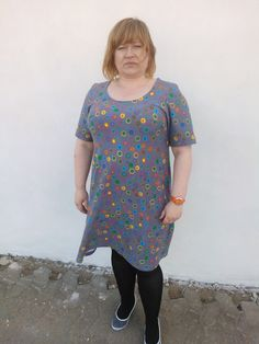 Jersey dress, tailered, super comfortable