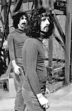 Ringo playing Frank Zappa's doppelganger in Zappa's film 200 Motels.