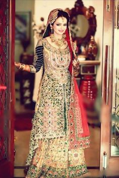 Choice for Wedding Dresses is a very difficult. There is a great number of Wedding Dresses is Available. Here we will show you some Stylish Wedding Dresses Pakistani Bridal Dresses, Indian Dresses, Indian Outfits, Wedding Dresses, Pakistani Couture, Wedding Attire, Desi Bride, Desi Wedding, Stylish Dresses