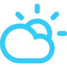 Cloudy today! With a high of 54F and a low of 49F.