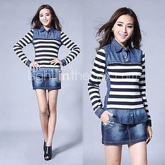 Denim Things I Want, Stripes, Denim, Jeans