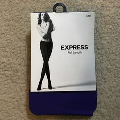 Express Purple Tights Express Purple Tights size s/m. Awesome color! Express Accessories Hosiery & Socks