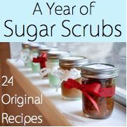 DIY Gift - Sugar Scrubs, these would make great gifts!