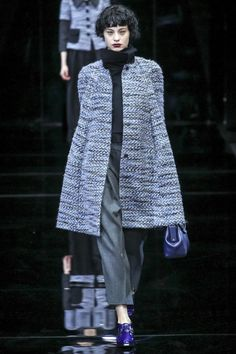 Emporio Armani F/W 2015-16. Click on the image to see the entire show.
