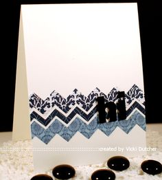 Die-Namics By The Letters/Chevron Stripes