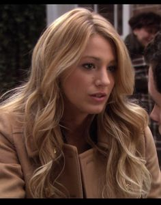 Serena Van Der Woodsen hair