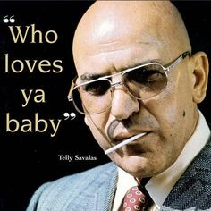 Kojak and his Tootsie Pops