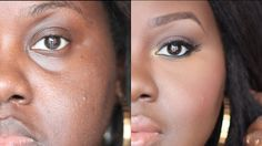 How To: Conceal Deep Set (Under) Eyes | Chanel Boateng
